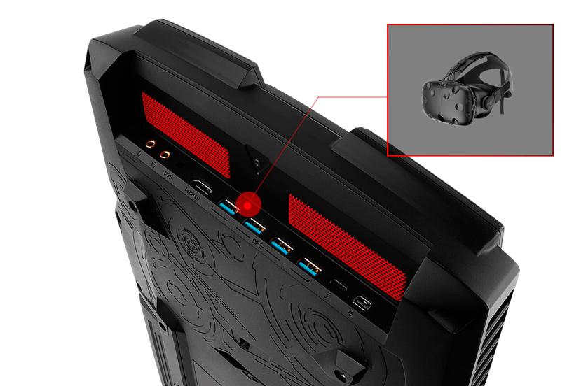 MSI presenta su PC-mochila para Realidad Virtual VR One, Imagen 3