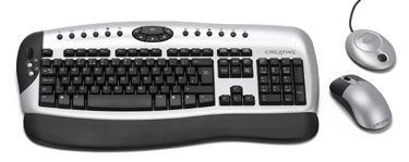 Creative presenta un nuevo teclado y raton inalambricos, Imagen 1
