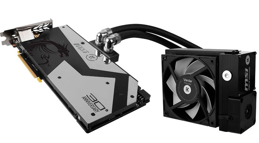 MSI lanza la GTX 1080 30th Anniversary Edition con refrigeración líquida completa, Imagen 2