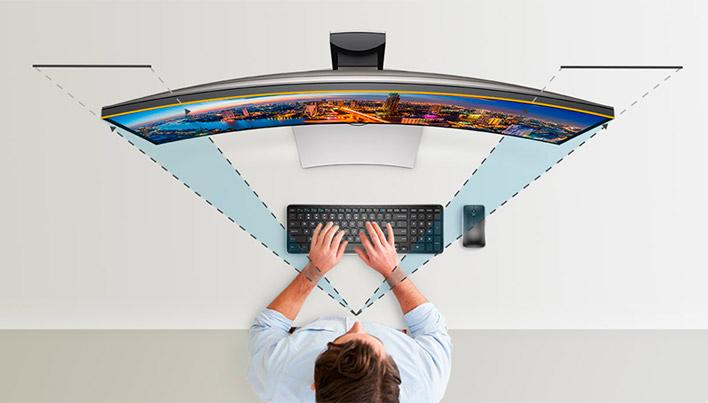 Nuevo monitor Dell UltraSharp U3417W con curvatura de 1900R, Imagen 2
