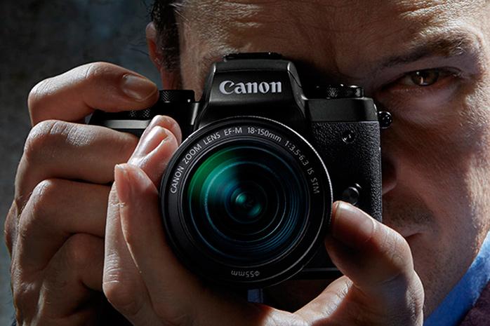 Canon apunta hacia el mercado de las cámaras mirrorles de gama alta con su nueva EOS M5, Imagen 1
