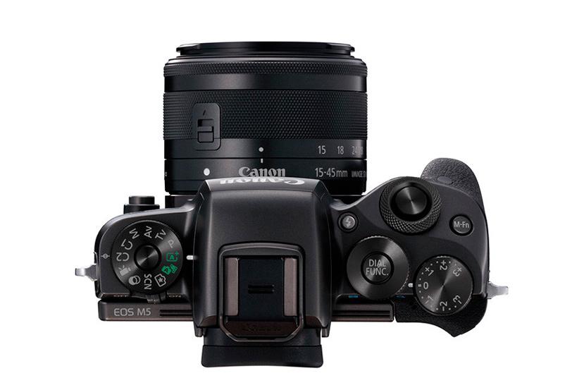 Canon apunta hacia el mercado de las cámaras mirrorles de gama alta con su nueva EOS M5, Imagen 2