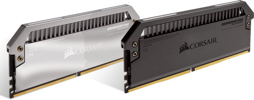 Corsair lanza una edición especial de sus memorias DDR4 Dominator Platinum, Imagen 1