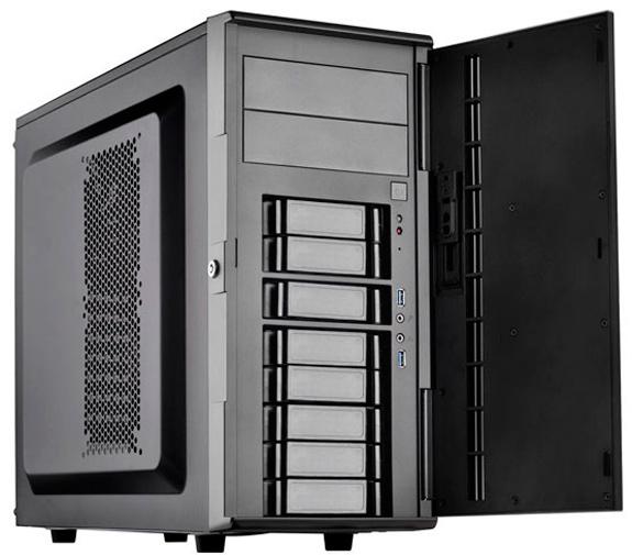 SilverStone CS380, una torre para PCs con ucho espacio de almacenamiento, Imagen 1