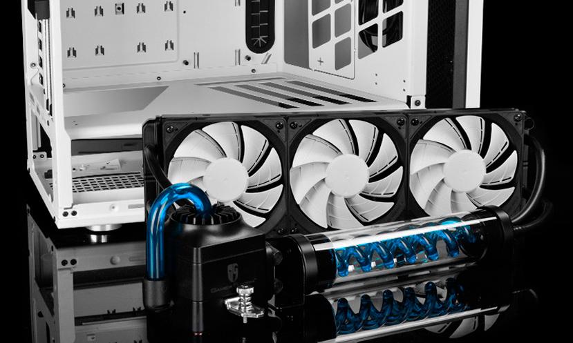 Nueva torre DeepCool Genome II con refrigeración líquida integrada, Imagen 2