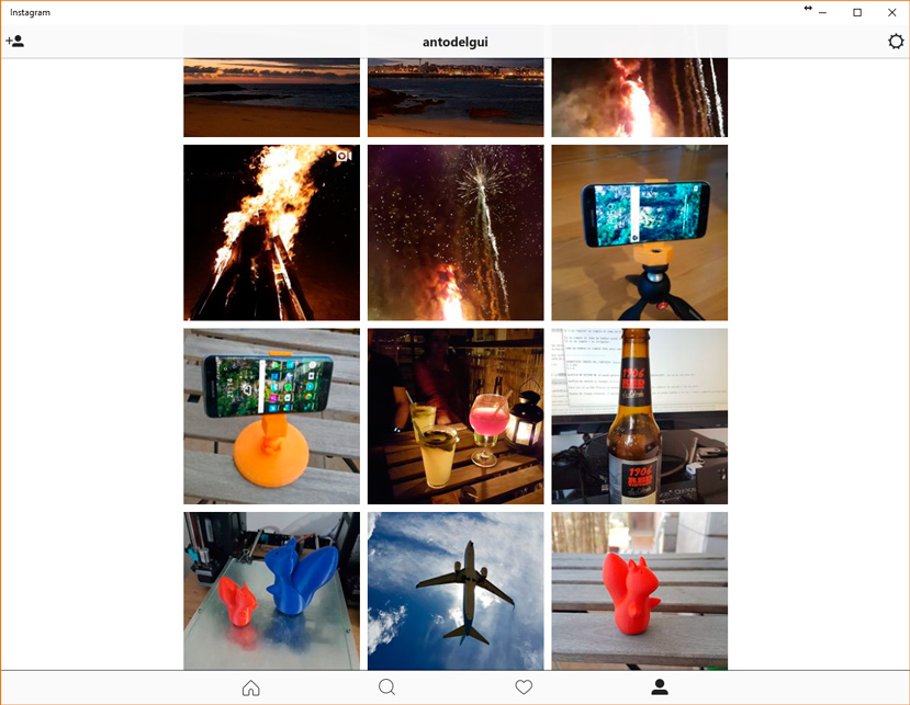 Ya disponible la app de Instagram para Windows 10, Imagen 2