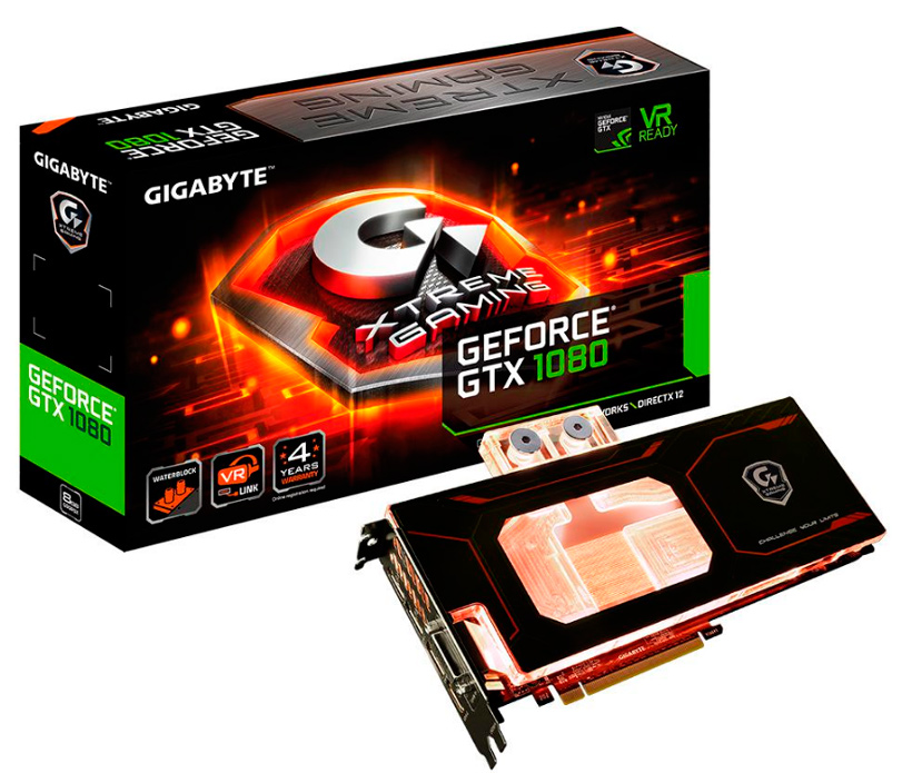 La Gigabyte GTX 1080 XTREME Gaming WaterForce WB llega con su propio bloque de refrigeración líquida , Imagen 1
