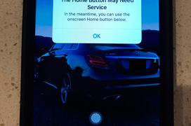El iPhone 7 activa un botón Home virtual cuando el físico se estropea