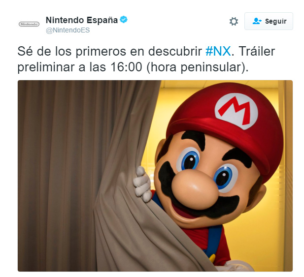 Nintendo desvelará su esperada consola NX esta tarde, Imagen 1