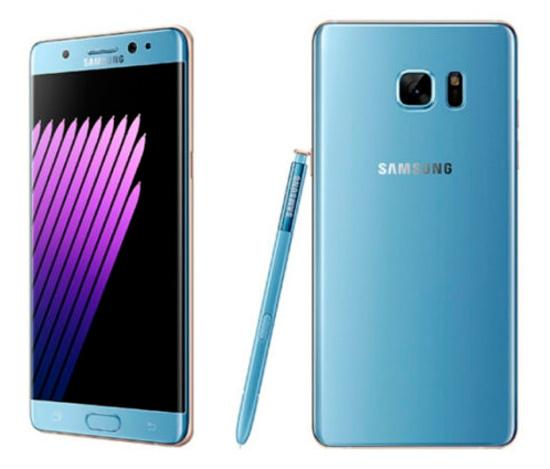 El color azul característico del Note 7 llegará al Galaxy S7 Edge, Imagen 1