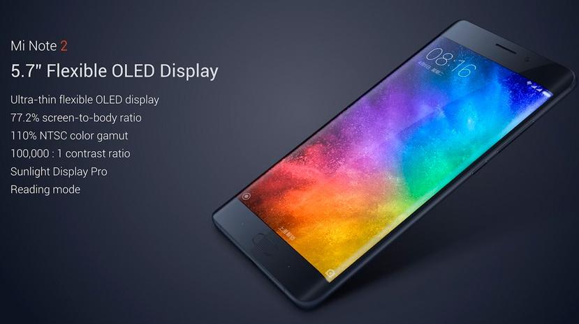 Mi Note 2, Xiaomi también se apunta a las pantallas curvas, Imagen 2
