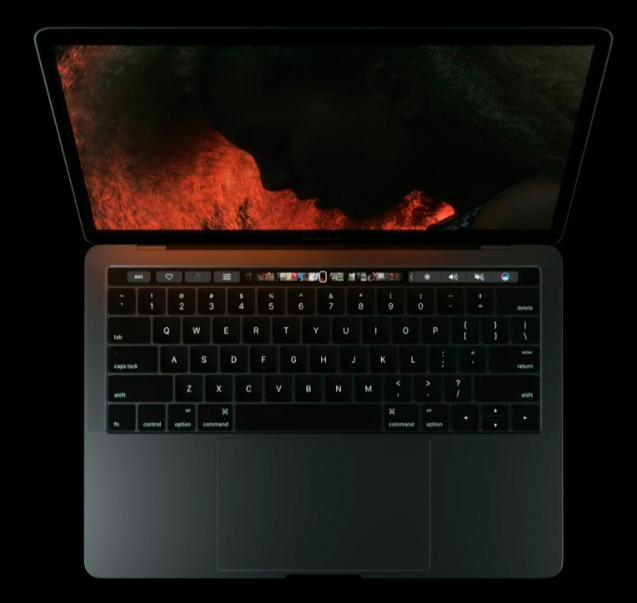 Apple presenta los nuevos MacBook Pro 'Late 2016' con TouchBar y USB-C, Imagen 1