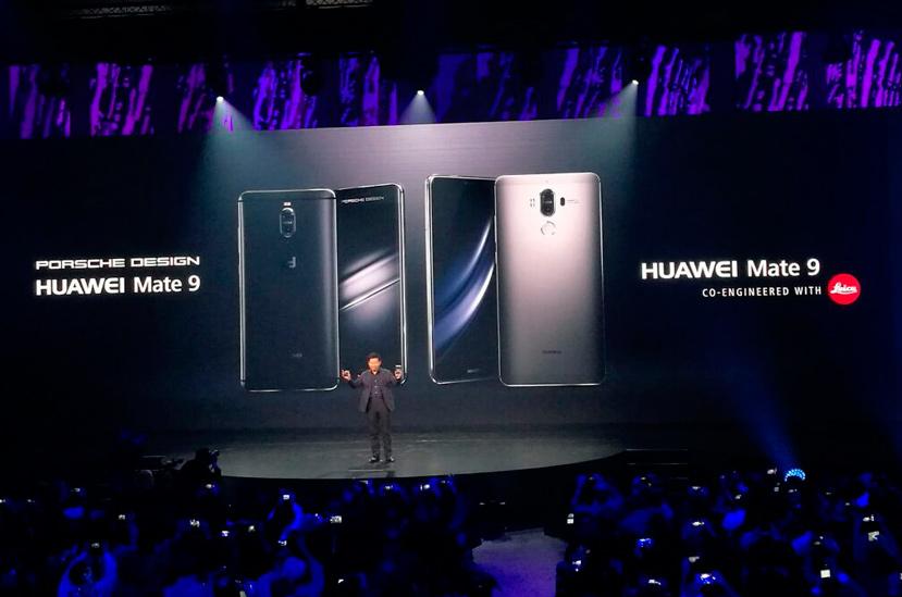 Mate 9, pantalla curvada y diseño de Porsche para la gama alta de Huawei, Imagen 1