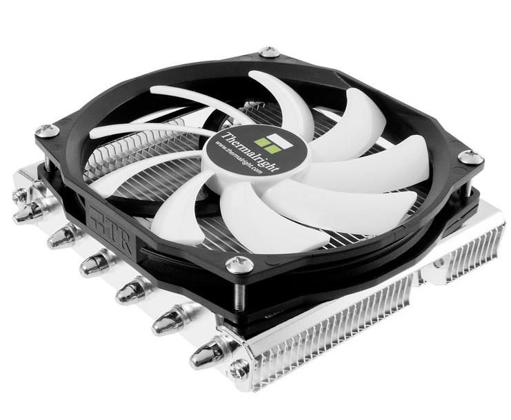 El disipador Thermalright AXP-100H combina 6 heatpipes en un formato de perfil bajo, Imagen 2