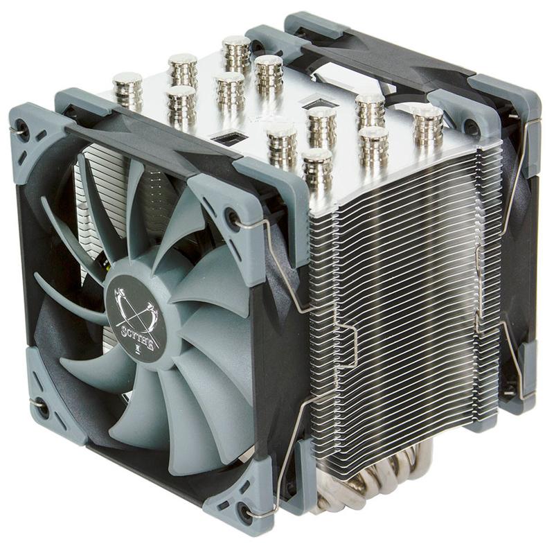 Llega la quinta generación del disipador de alto rendimiento Scythe Mugen , Imagen 1