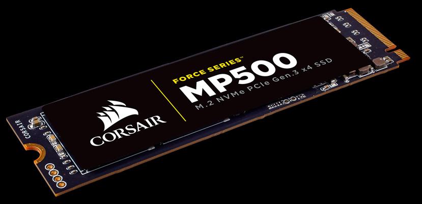 Corsair Force MP500, un SSD M.2 NVMe que alcanza los 3.000 MB/s, Imagen 1