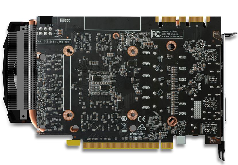 ZOTAC crea una GTX 1070 compacta de tan solo 21 cm, Imagen 2