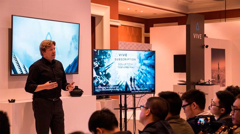 HTC anuncia nuevos accesorios para la VR Vive y un servicio de suscripción, Imagen 2