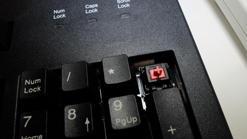 Cherry integra sus interruptores silenciosos en el teclado MX Board Silent, Imagen 2