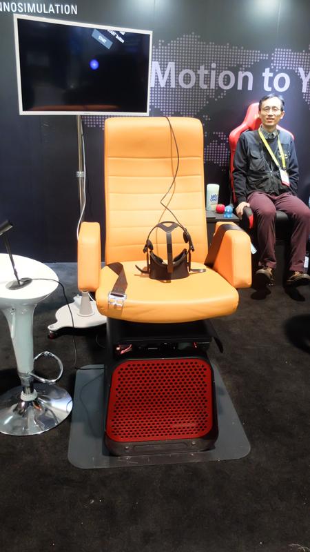 Máxima inmersión con esta silla para gafas de realidad virtual, Imagen 1