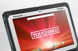 El tablet Panasonic Toughpad FZ-A2 resiste caidas desde 1,2 metros sin problemas