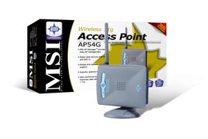 Tres soluciones Wireless 802.22 b/g de MSI, Imagen 1