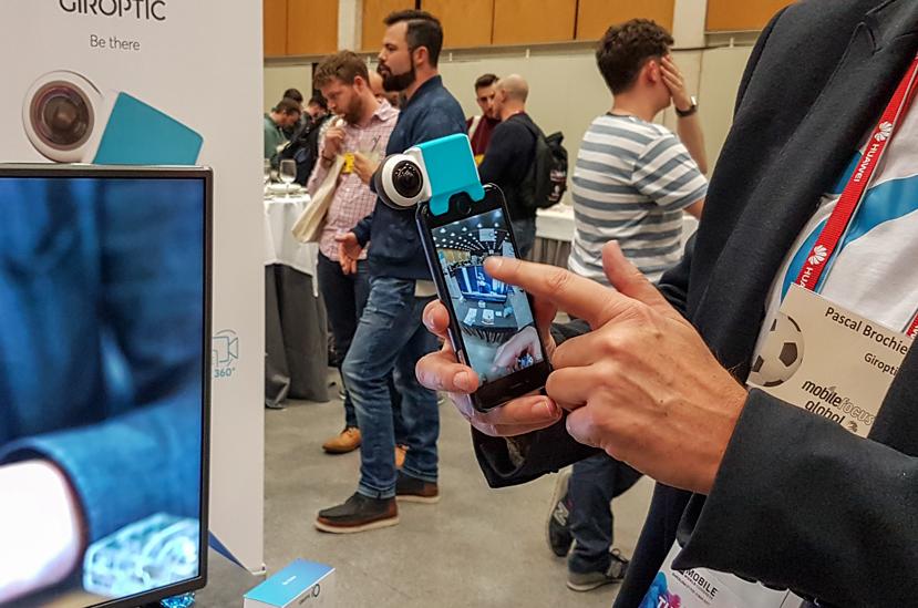 Giroptic IO, una cámara de 360 grados para el móvil, Imagen 1