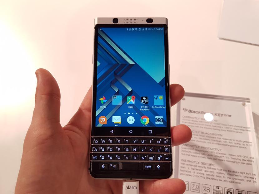 El teclado físico es el protagonista de la Blackberry KeyOne, Imagen 1