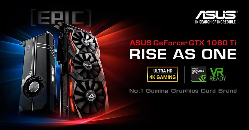 Así lucirá la GTX 1080 Ti ROG STRIX de ASUS, Imagen 1