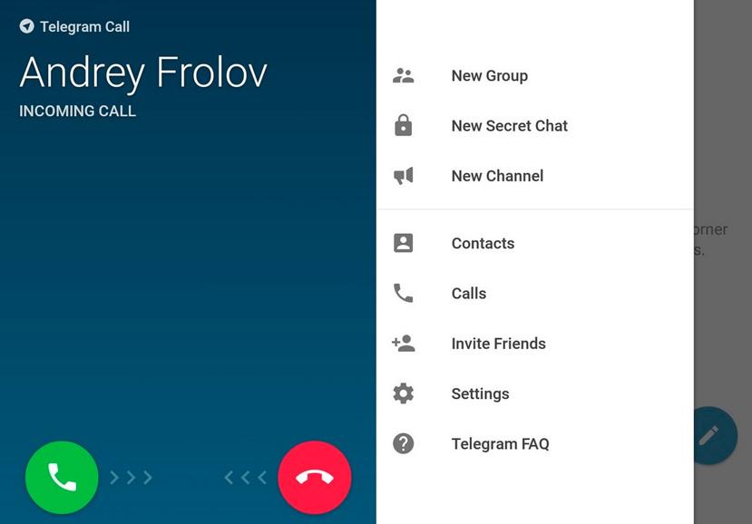 Telegram integrará llamadas de voz próximamente, Imagen 1