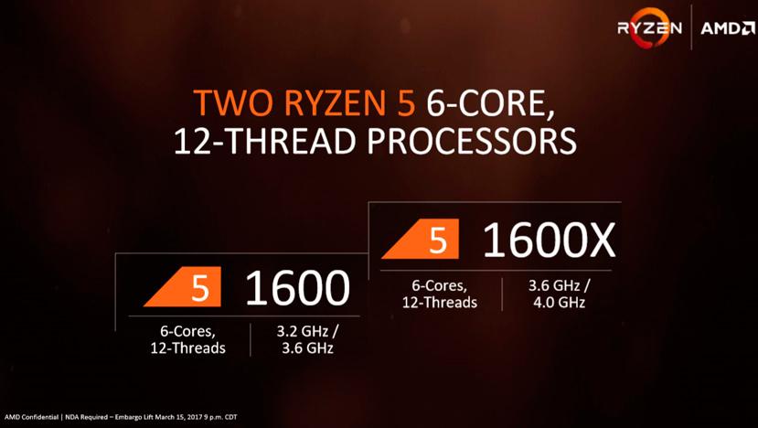 AMD anuncia los procesadores Ryzen 5 con multiplicador desbloqueado, Imagen 1