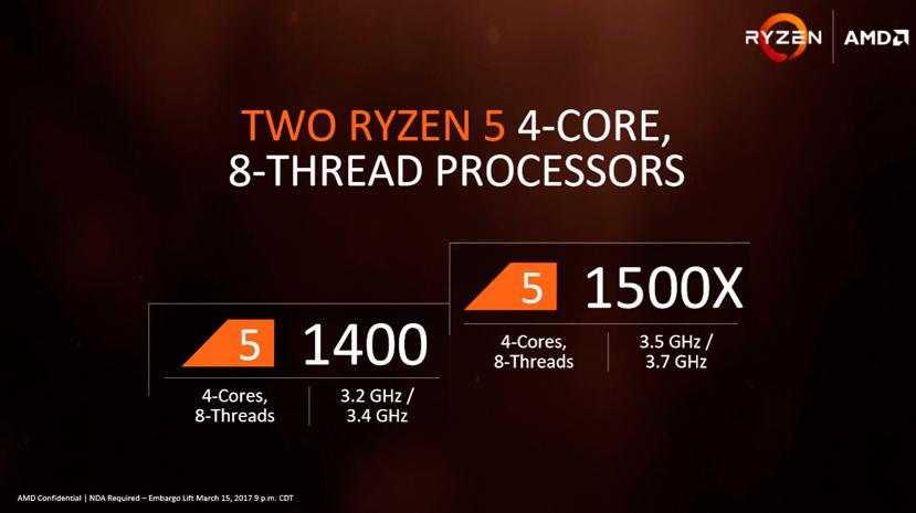 AMD anuncia los procesadores Ryzen 5 con multiplicador desbloqueado, Imagen 2