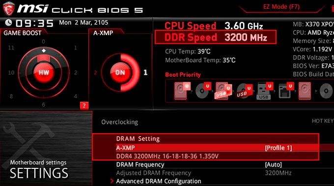 Las placas MSI AM4 son las primeras en soportar perfiles de memoria XMP, Imagen 1