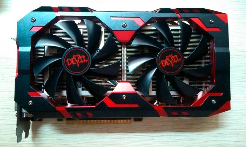 La PowerColor RX 580 Red Devil tendrá doble conector de corriente, Imagen 1