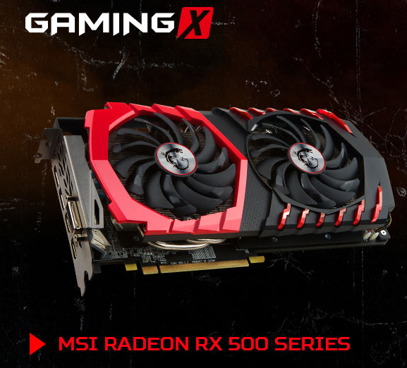 MSI anuncia sus Radeon RX 570 y RX 580 personalizadas, Imagen 1