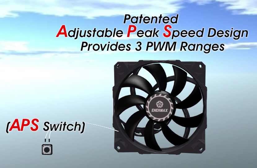 Los ventiladores Enermax D.F. STORM llegarán con un sistema de auto-limpieza, Imagen 1