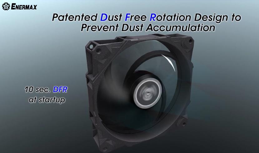 Los ventiladores Enermax D.F. STORM llegarán con un sistema de auto-limpieza, Imagen 2
