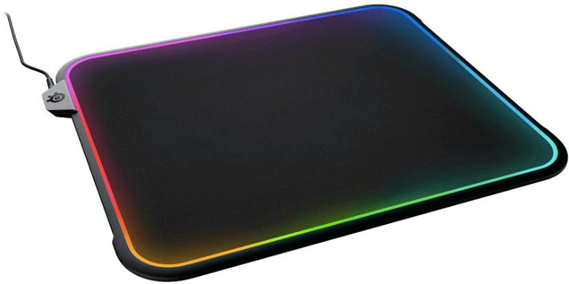 Iluminación RGB 360º para la alfombrilla SteelSeries QcK Prism, Imagen 1
