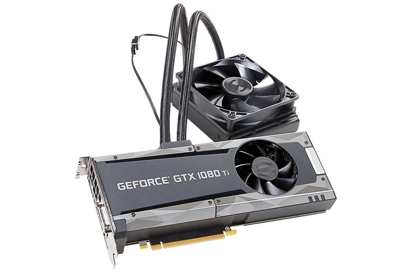 Refrigeración líquida y por aire para la EVGA GTX 1080 Ti SC2 Hybrid, Imagen 1