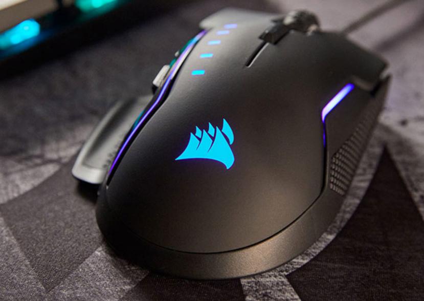 16.000 DPI de resolución en el  nuevo ratón gaming Corsair Glaive RGB, Imagen 1