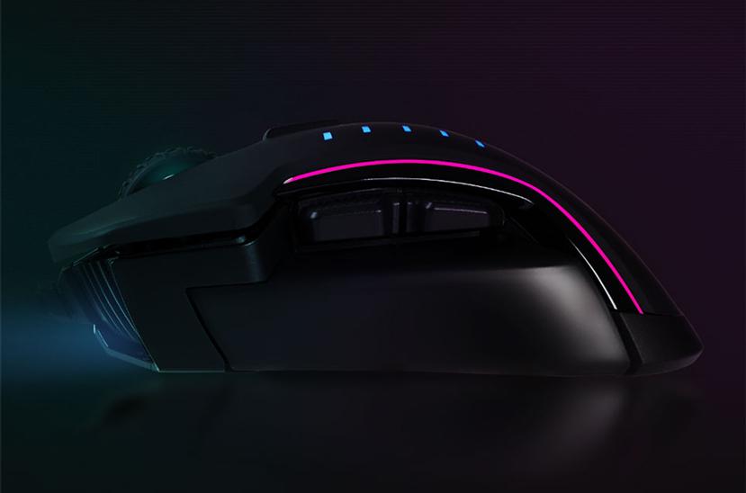 16.000 DPI de resolución en el  nuevo ratón gaming Corsair Glaive RGB, Imagen 2