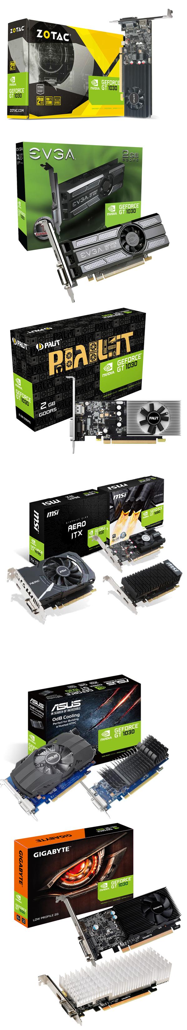 Llegan las gráficas GeForce GT 1030 personalizadas, Imagen 1