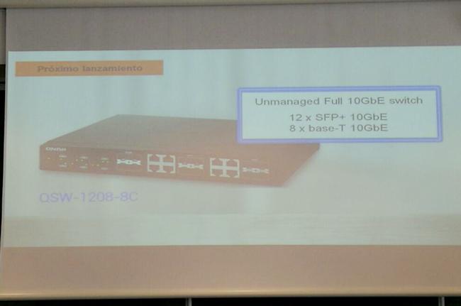 QNAP lanzará en el Computex su switch 10GbE QSW-1208-8C, Imagen 1