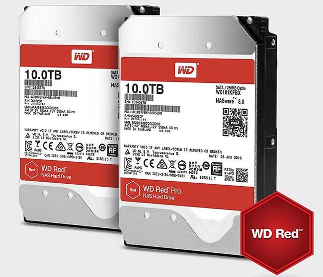 Los discos duros para NAS WD RED ya alcanzan los 10 TB , Imagen 1