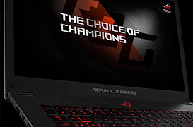 ASUS prepara el portátil ROG Strix GL720ZC con Ryzen y RX580 de AMD