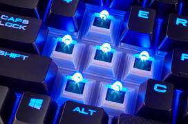 El teclado mecánico Corsair K68 es resistente al polvo y al agua