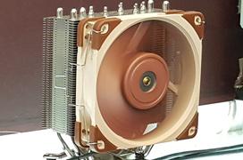 Noctua consigue reducir a 0.5mm la distancia entre aspas y marco en sus ventiladores para mejorar su rendimiento