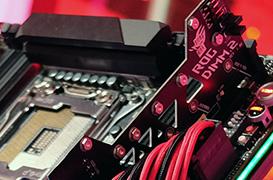 La ASUS ROG Zenith Extreme con DIMM.2 para unidades M.2