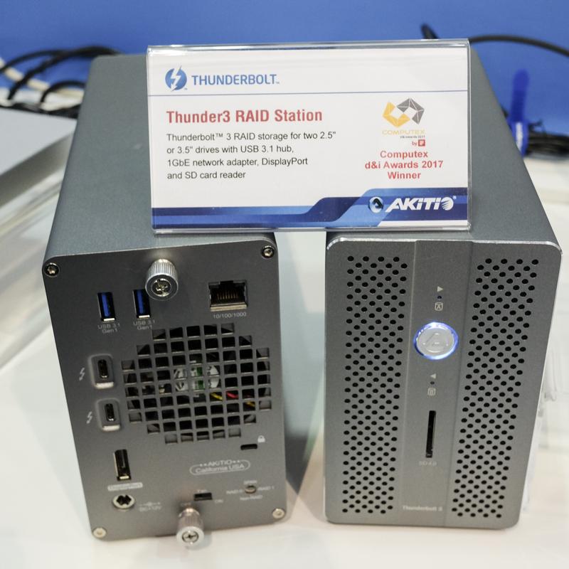 Akitio nos enseña su caja externa para discos Thunder3 RAID Station, Imagen 2