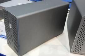 Akitio nos enseña su caja externa para discos Thunder3 RAID Station